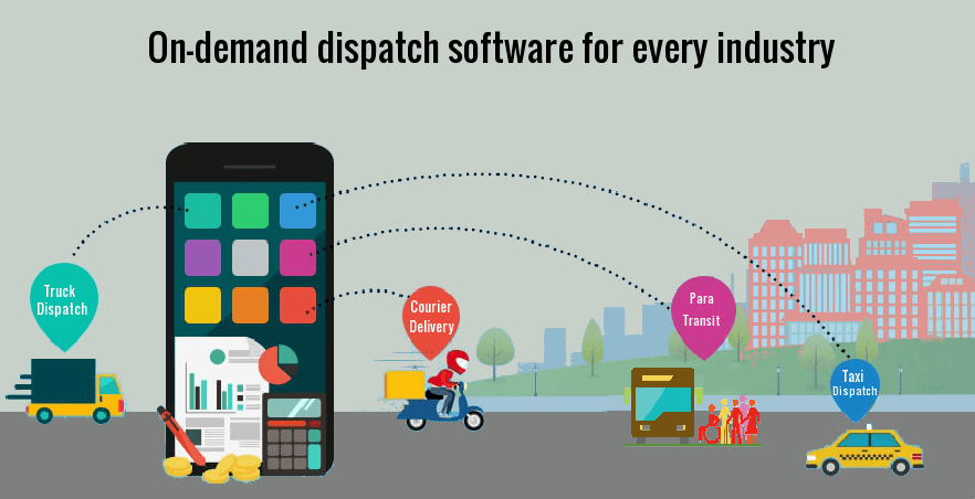 On demand dispatch software for every industry