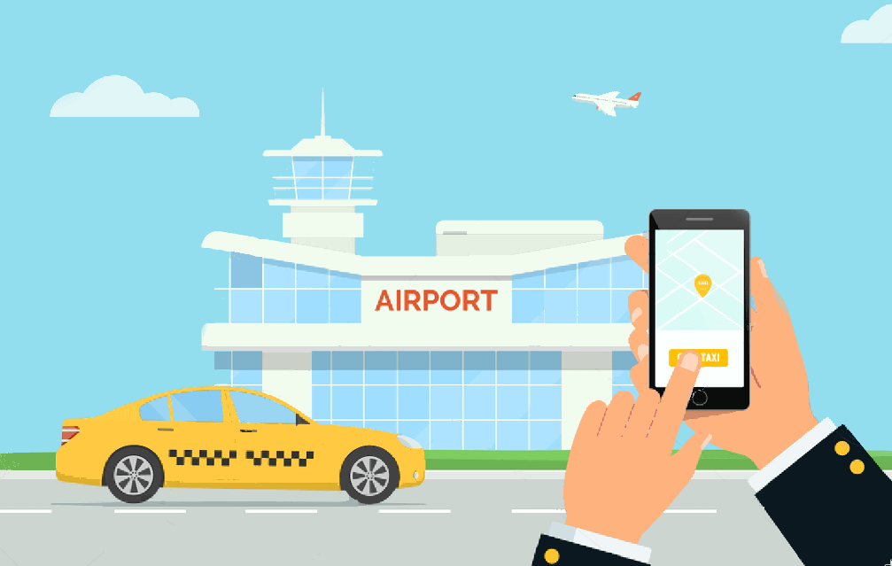 Uber-like App built for on-demand airport taxi service
