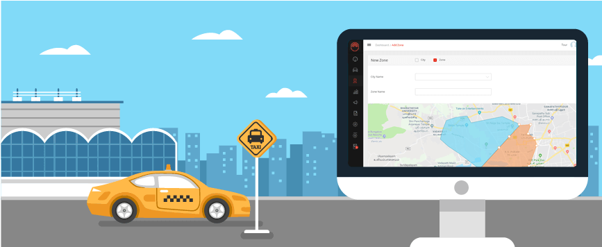 taxi dispatch system, taxi management system