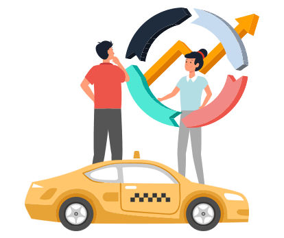 On-demand Taxi Software, uber clone app